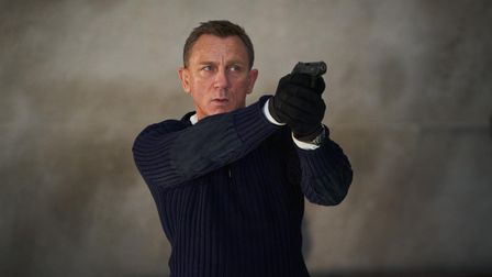 Undated handout photo issued by Danjaq, LLC/MGM of Daniel Craig playing James Bond in the new Bond f