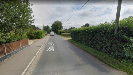 Stoke Road, Poringland has closed due to emergency water works carried out by Anglian Water in Norfolk.