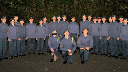 24 junior cadets of Tutor Flight have beenenrolled into the Air Training Corps family at Ely Squadron.