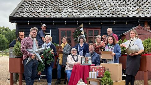 The Blackthorpe Barn Christmas craft festival is celebrating its 30th anniversary