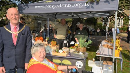 Ely's Apple and Harvest Fayre featured stalls, entertainment and food.