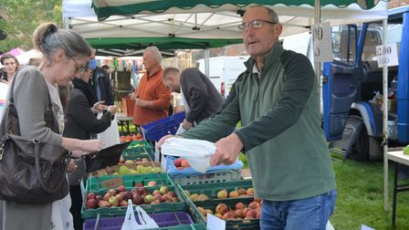 Visitors to Ely's Apple and Harvest Fayre were able to pick from a fresh range of apples.