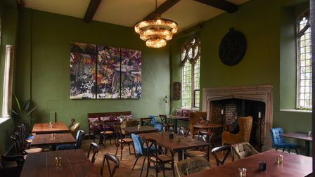 Trio's Restaurant at St Peter's Hall in Bungay. Picture: Danielle Booden