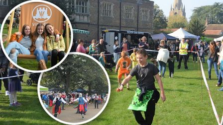 ... people marked the return of Ely's Apple and Harvest Fayre this year.