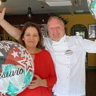 Owners of Vesuvio restaurant in Whittlesey