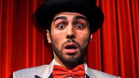 José Pedro Fortuna who will be performing at the first Colchester Fringe Festival from October 21-24