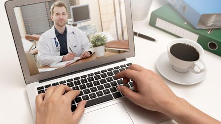 A video consultation with your GP is accepted