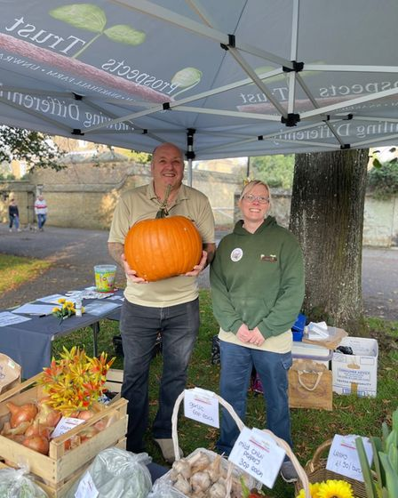 Prospect Trust attended Ely's Apple and Harvest Fayre.