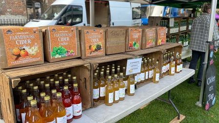 Watergull Orchards attended Ely's Apple and Harvest Fayre.