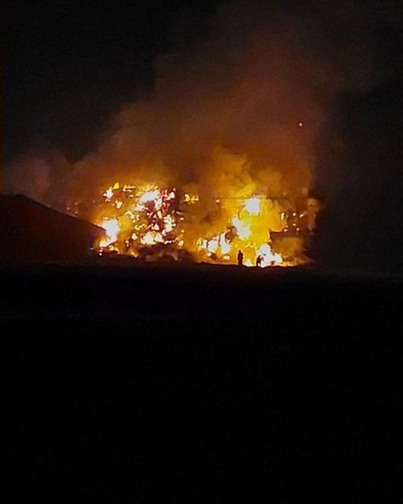 A number of fire crewsattended the Sutton Road fire which began on Sunday morning.