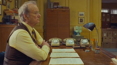 Bill Murray in the film THE FRENCH DISPATCH. Photo Courtesy of Searchlight Pictures. © 2020 Twentie