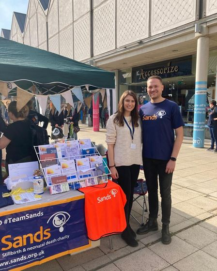 Sands charity stall