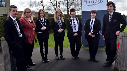 Thetford Academy have set up programme for past students to come forward and inspire current pupils