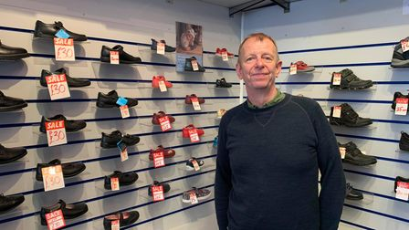 Andrew Field started selling footwear in Stalham, before opening a branch inFakenham