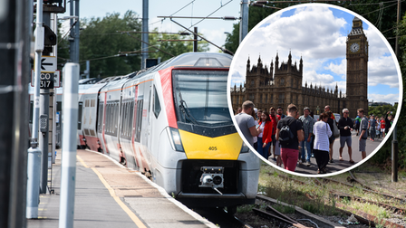 Greater Anglia London Train from Ipswich for only £5