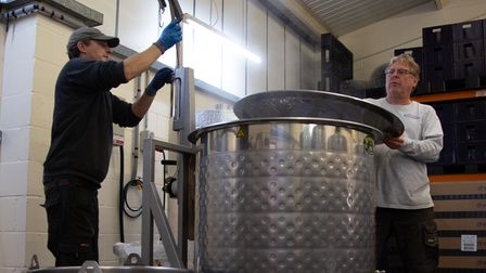 The Brewery at the Krafty brewmeister in Leiston, Suffolk makes traditional German beer