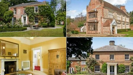 Just some of the homes that sold for £1m or more in 2015.