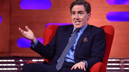 Rob Brydon and his band will be coming to the Ipswich Regent Threatre