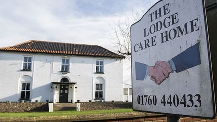 The Lodge Care Home on Watton Road in Ashill. Picture: Matthew Usher.