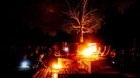 The Spill Festival's famous Pyre Parade is back this October and will allow the people of Suffolk to