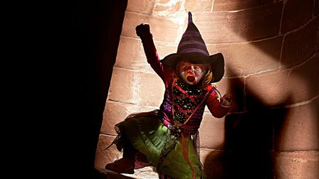 Framlingham Castle will be staging The Wizards of Once Halloween Quest this half-term