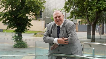 SCC Cllr Richard Smith Picture: SUFFOLK COUNTY COUNCIL