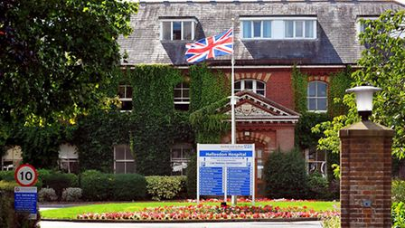 Hellesdon Hospital, the home of Norfolk and Suffolk NHS Foundation Trust. Photo: Bill Smith