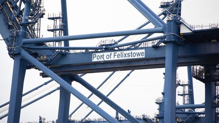 The Port of Felixstowe. Picture: Sarah Lucy Brown
