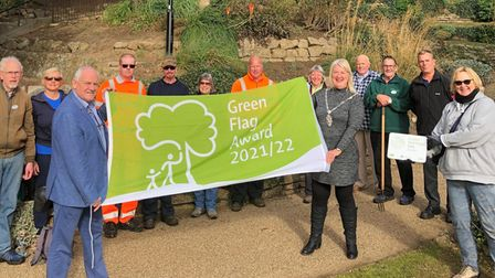 11 parks and green spaces have been awarded a Green Flag Award