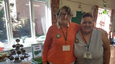 Toftwood Village Hall played host to a Macmillan Coffee Morning