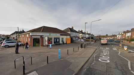 The incident took place at the Co-Op on Old Heath Road in Colchester