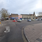 The assault took place in Cornhill, Bury St Edmunds