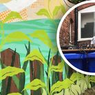 Kaine Williams is being remembered at an underpass in Bury St Edmunds that has new mural artwork.