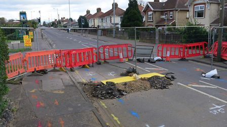 Plumstead Road in Norwich has now reopened after it was shut in January because of a sinkhole. PHOTO