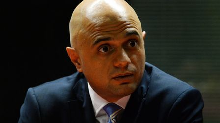 New health secretary Sajid Javid addressed the House of Commons on Monday afternoon.