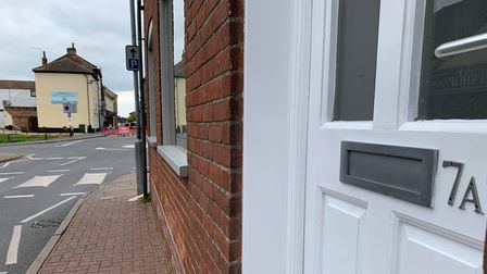 The first floor at 7A Norwich Road in Fakenham could become a tattoo studio