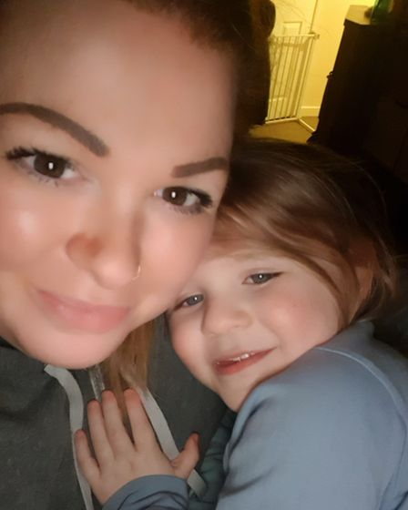 Lexi Taylor and her daughter Ellie