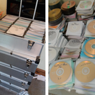 The DVDs were seized from a property in Sudbury, Suffolk Trading Standards said