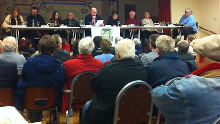 Residents argue against Costessey homes