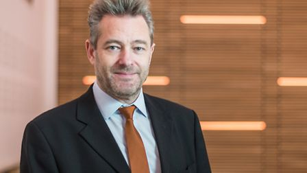 Paul Reed, who has taken over as financial controller of Norwich Research Park. Picture: Joe Lenton.