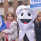 NHS Dentist protest in Bury St Edmunds. Pictures: Brittany Woodman