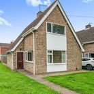 Two-bed brick chalet bungalow on Proctor Road, Sprowston, which is for sale