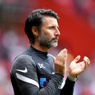 Portsmouth manager Danny Cowley ahead of the Sky Bet League One match at The Valley, London. Picture