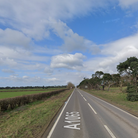 Emergency services were called to a single vehicle crash near Lakenheath this weekend