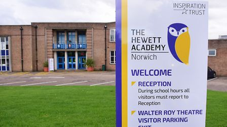 The Hewett School officially became the Hewett Academy in September 2015. Picture: DENISE BRADLEY