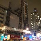 London Fire Brigade responded to the incident late last night