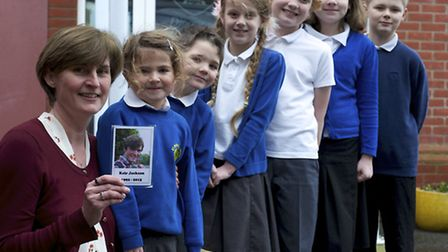 Kathryn Jackson, headteacher of Roughton Primary school, backs the epilepsy awareness campaign after