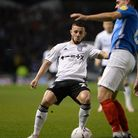 Conor Chaplin back at Fratton Park against Portsmouth.