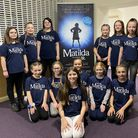 Some of the cast of Beccles Public Hall's Youth Theatre's production of Matilda the Musical Jr.