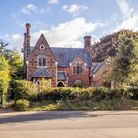 Huge Victorian Gothic lodge house on Earlham Road in Norwich which is for sale for £1.2m